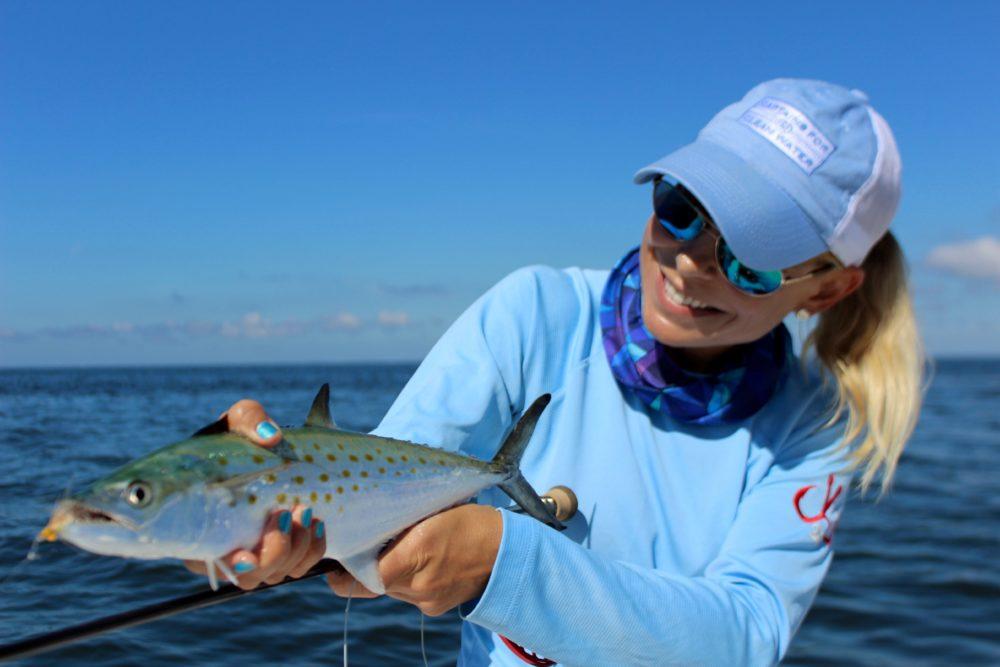 spanish mackerel fishing photo