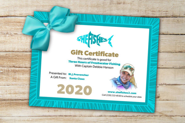 SheFishes2 Gift Cards