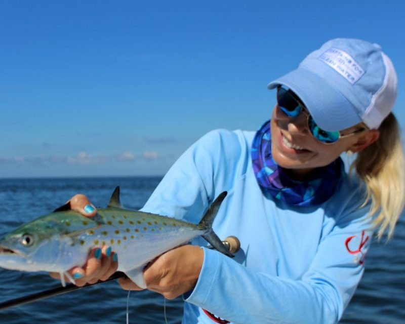 spanish mackerel fishing photo